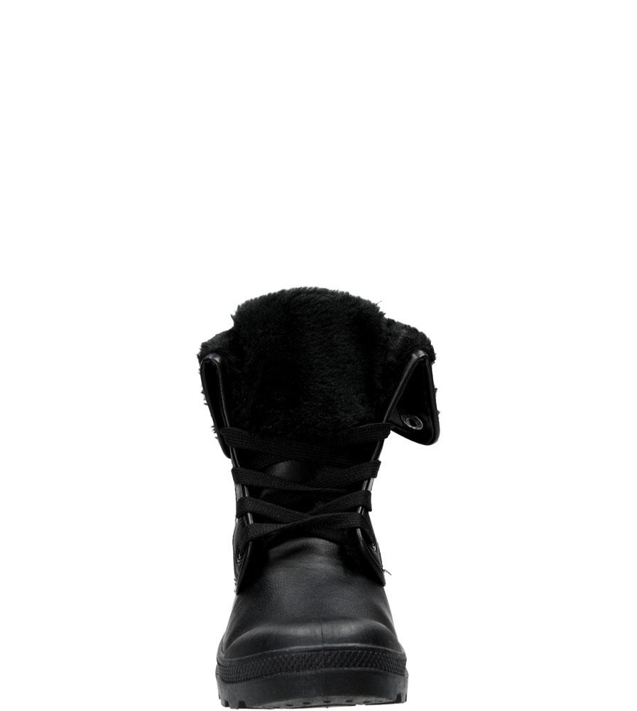 Damskie BOTKI CASU R-56 czarny;;