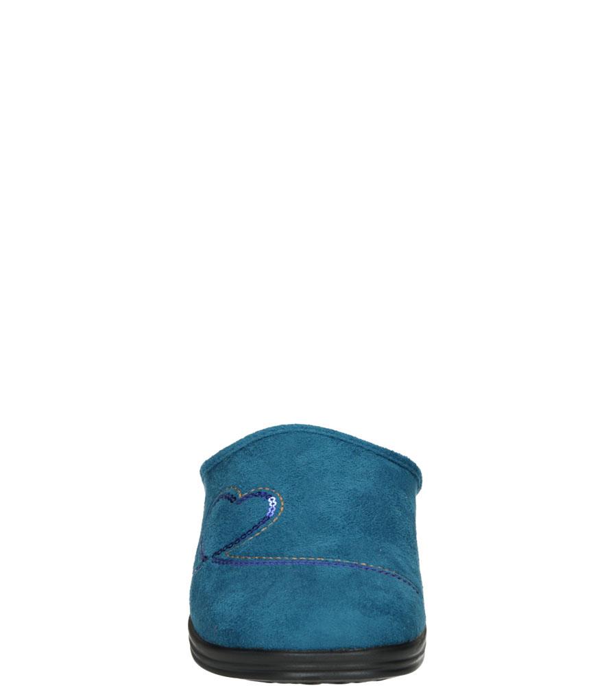 Damskie KAPCIE INBLU RA00145A niebieski;;