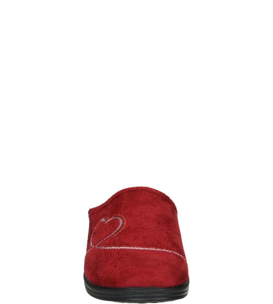 Damskie KAPCIE INBLU RA00145A czerwony;;