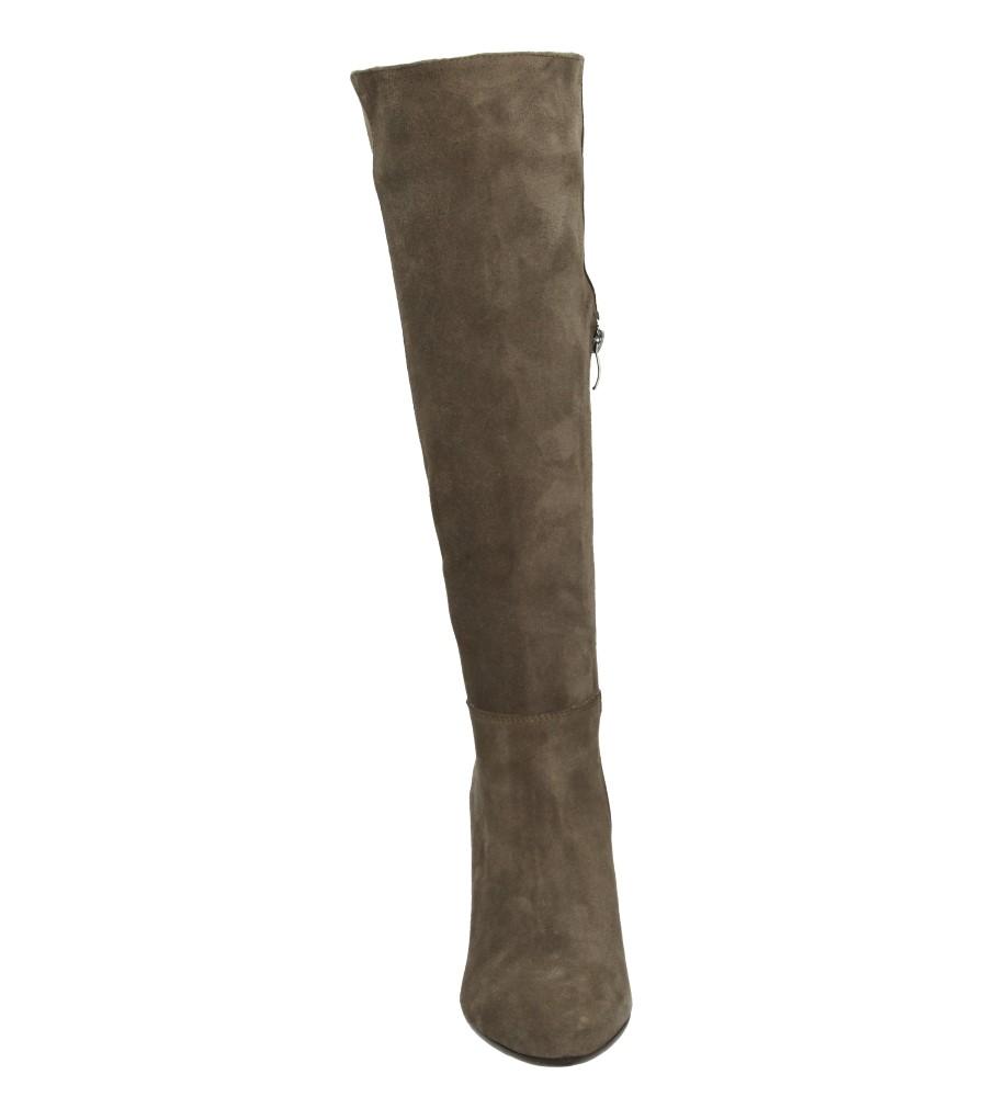 Damskie KOZAKI LAURA MESSI 1150 brązowy;;