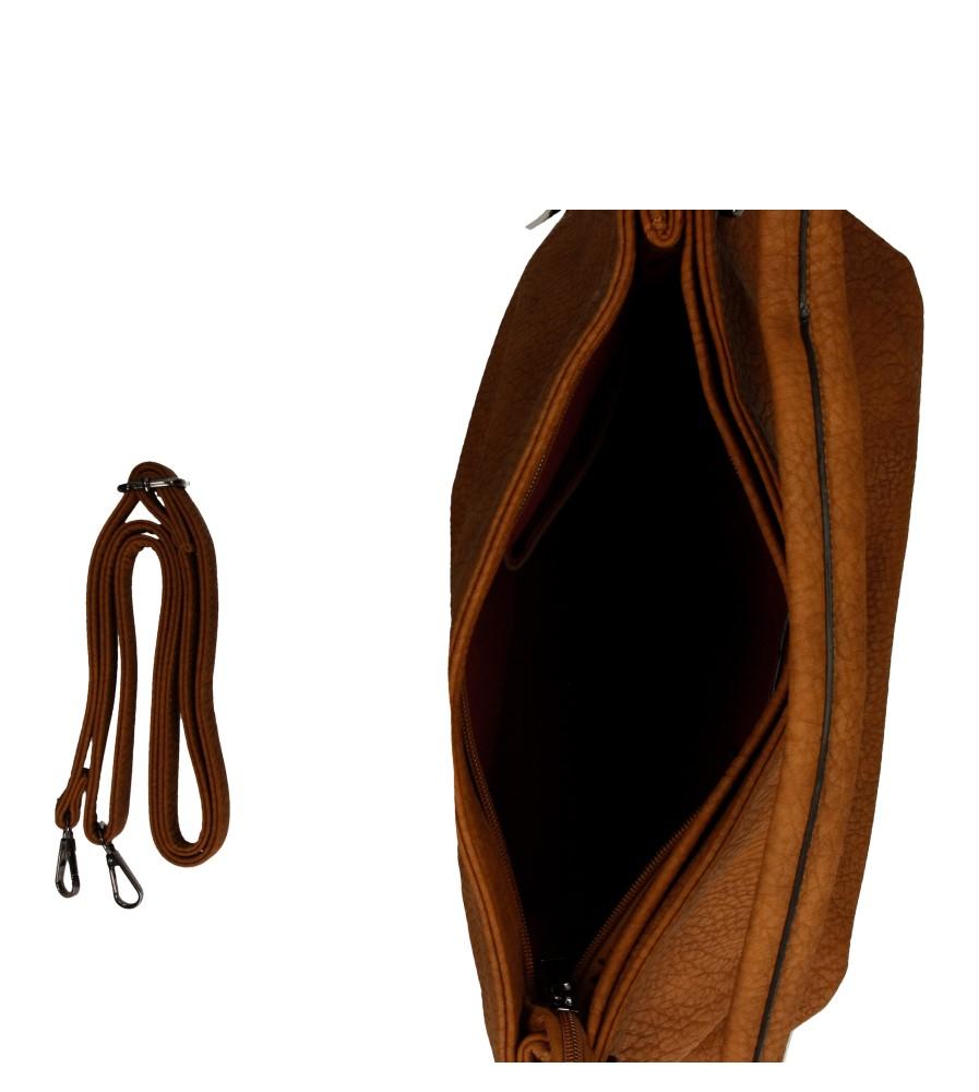 Damskie TOREBKA R01 brązowy;;