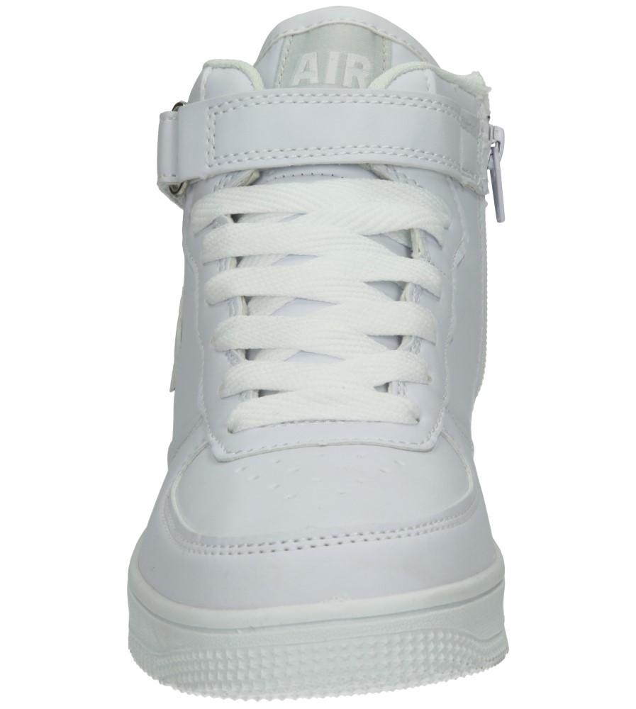 Dziecięce SPORTOWE 3XC7022 biały;biały;