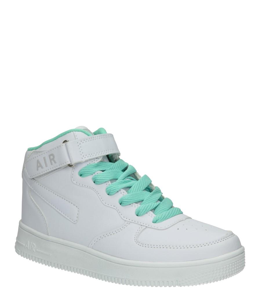 Dziecięce SPORTOWE CASU 3XC7022 biały;zielony;