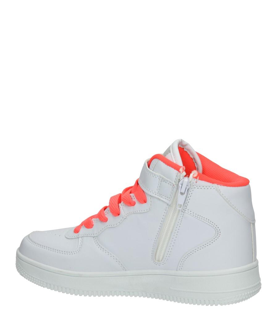 SPORTOWE 3XC7022 kolor biały, pomarańczowy
