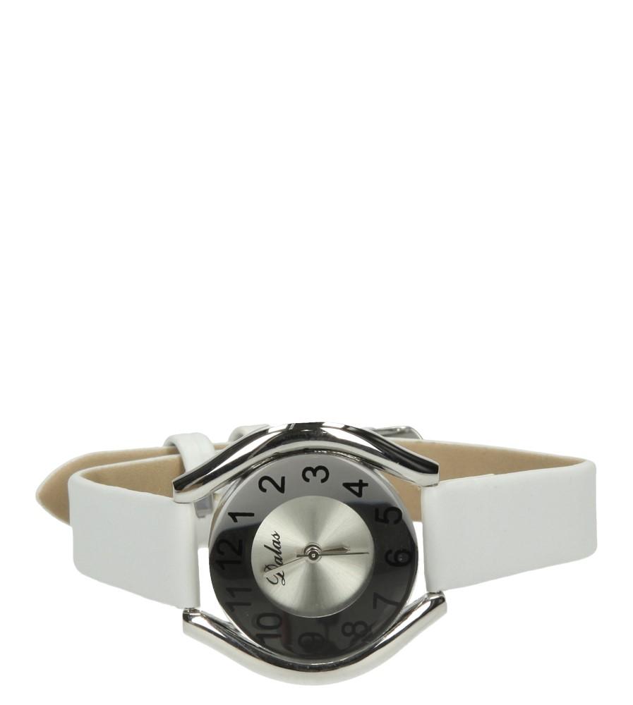 Damskie ZEGAREK 672128 biały;srebrny;