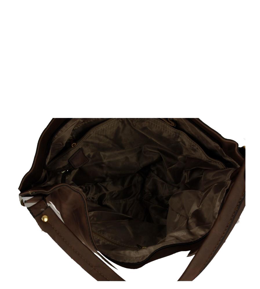 Damskie TOREBKA F8076 brązowy;;