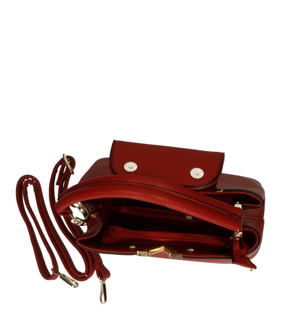Damskie TOREBKA M9016 czerwony;;