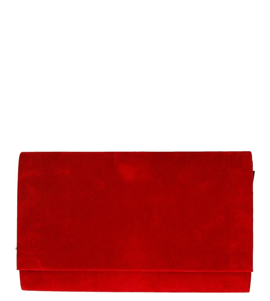 Damskie TOREBKA WIZYTOWA R06 czerwony;;