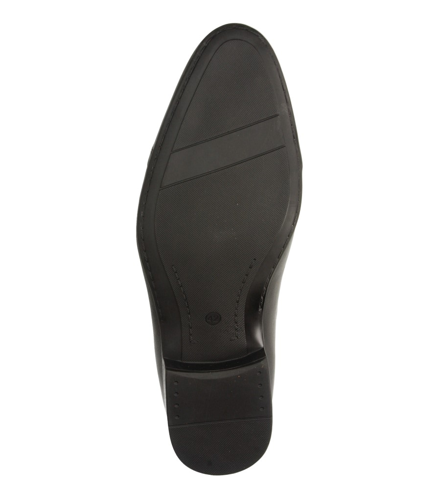 Męskie WIZYTOWE WINDSSOR 485 czarny;;