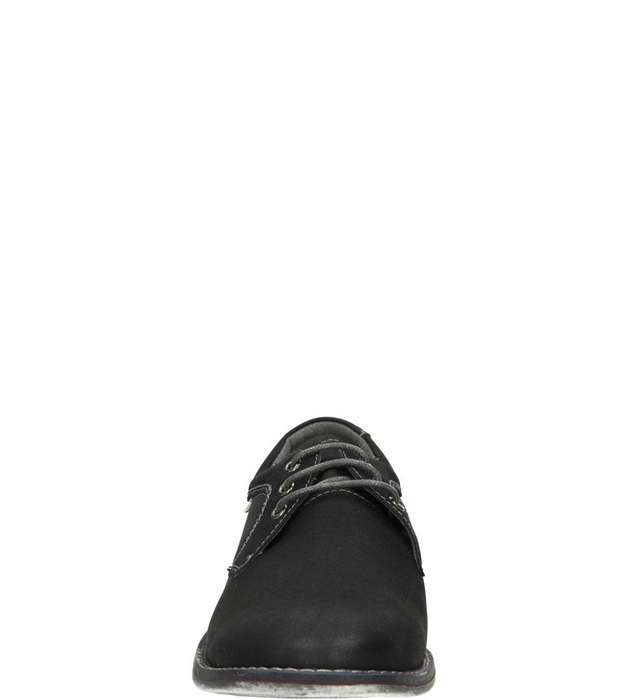 Męskie PÓŁBUTY CASU 9F-BK85800E czarny;;