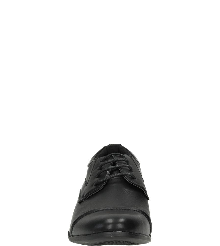 Męskie WIZYTOWE CASU 9F-BK85860 czarny;;