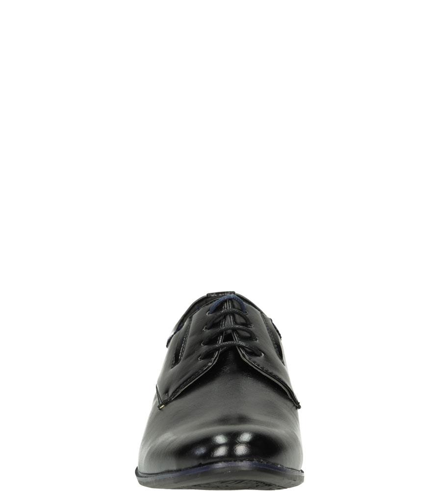 Męskie WIZYTOWE CASU 9F-BK85874 czarny;niebieski;