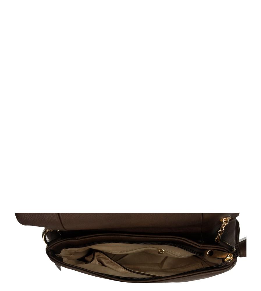 Damskie TOREBKA LISTONOSZKA Z-9111 brązowy;;