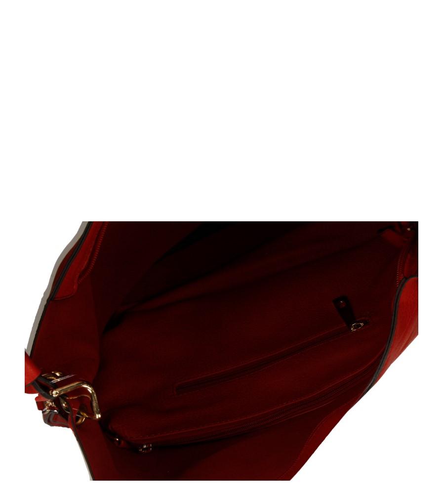 Damskie TOREBKA K0083 czerwony;;