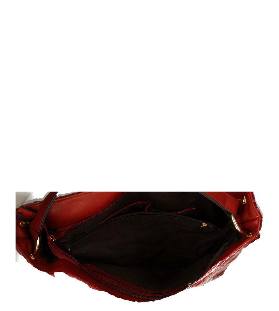 Damskie TOREBKA W-8742-1 bordowy;;