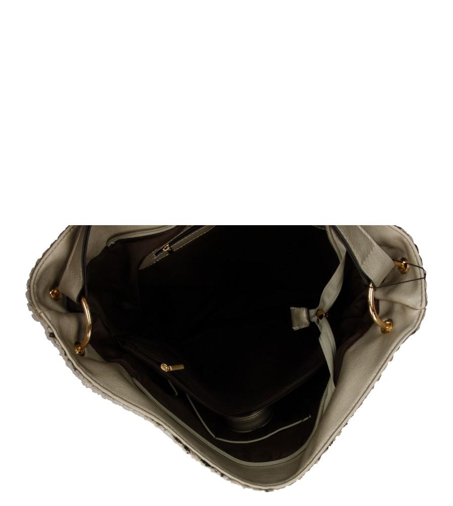 Damskie TOREBKA W-8742-1 szary;;
