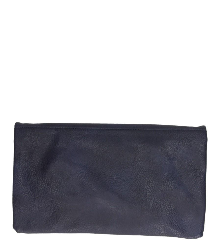 Damskie TOREBKA WIZYTOWA H3030 niebieski;;