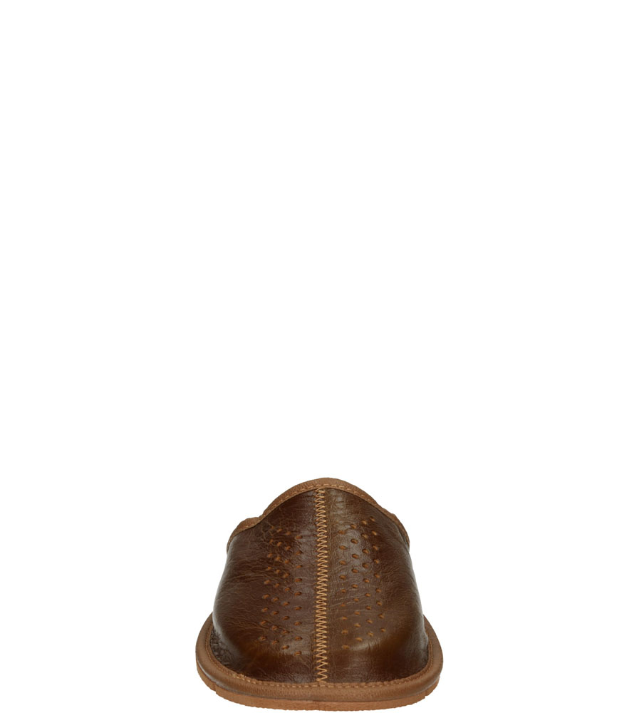 Męskie KAPCIE CASU M-33 brązowy;;