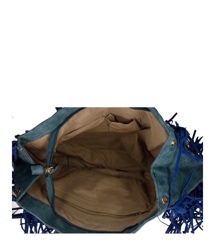 Damskie TOREBKA YZ-11 niebieski;;