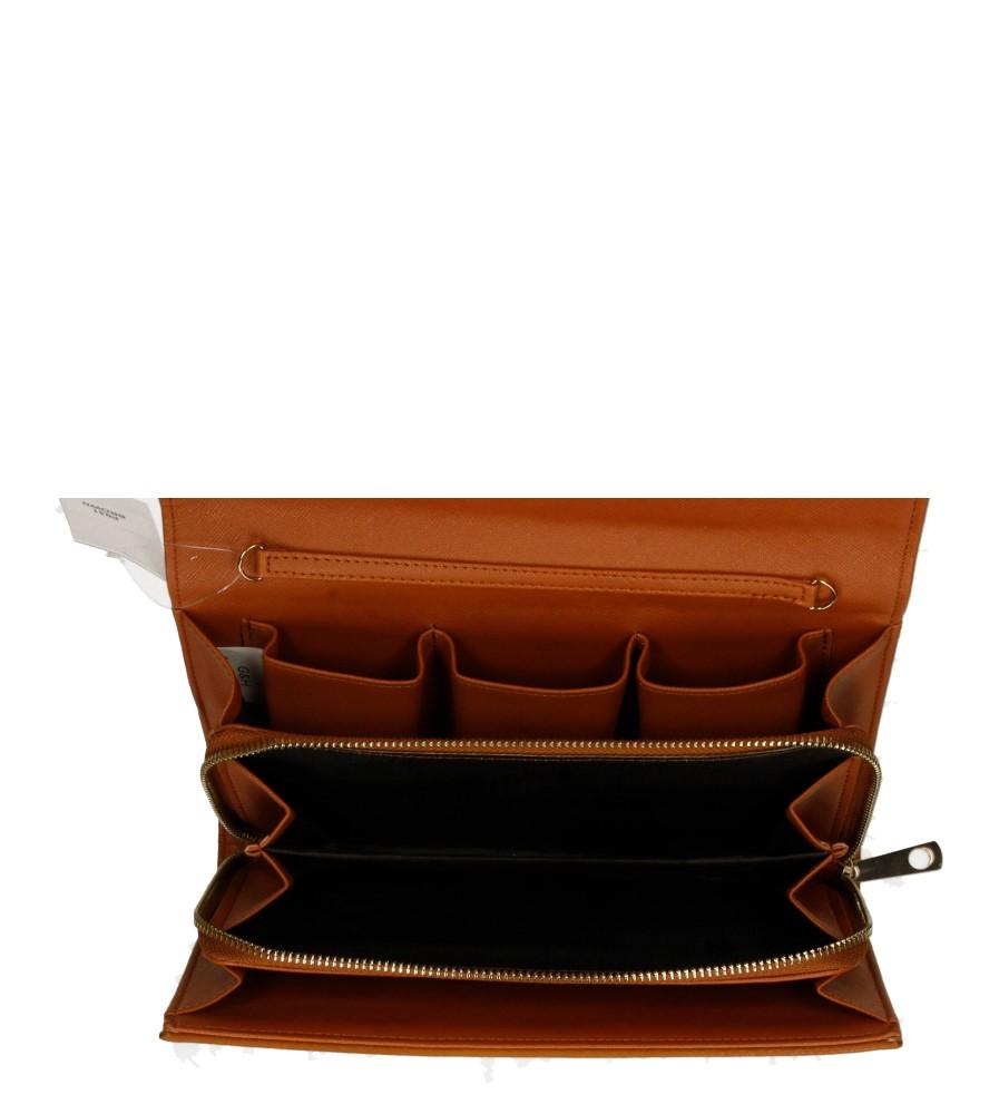 TOREBKA WIZYTOWA P031 kolor brązowy