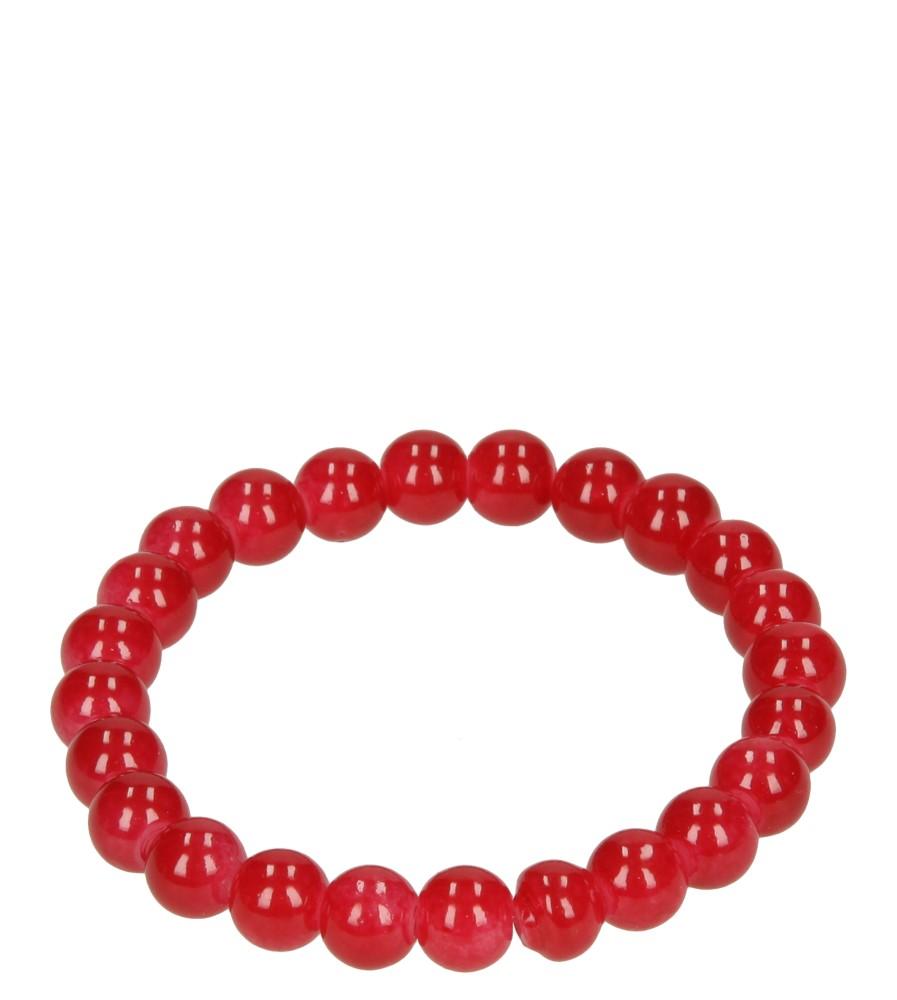 Damskie BRANSOLETA 673390 czerwony;;