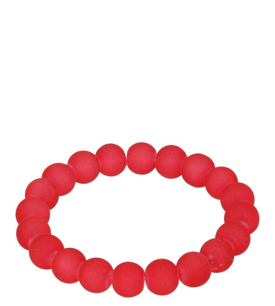 Damskie BRANSOLETA 673399 czerwony;;