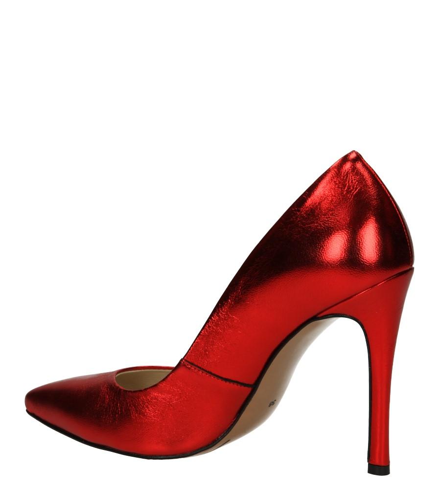 SZPILKI NEŚCIOR 101-C kolor czerwony