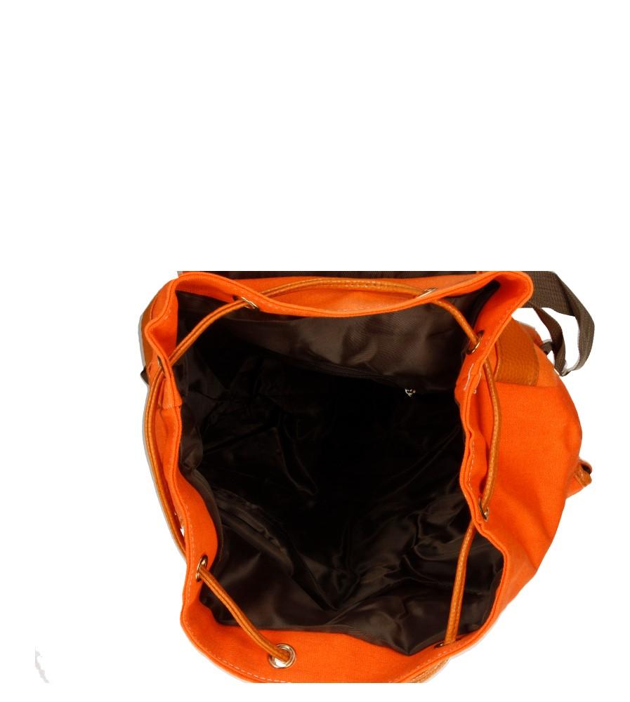 Damskie PLECAK 463 pomarańczowy;;
