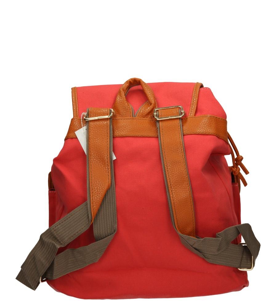 Damskie PLECAK 463 czerwony;;