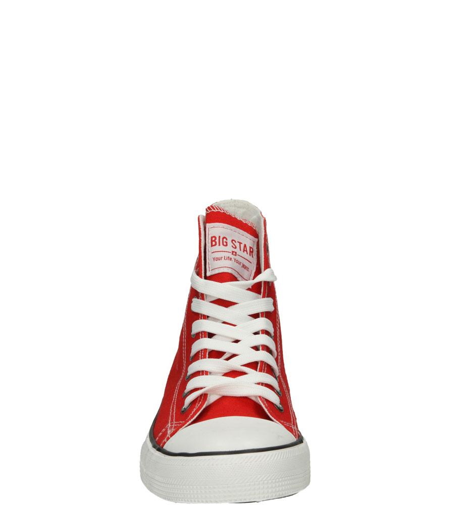 Damskie TRAMPKI BIG STAR T274024 czerwony;;
