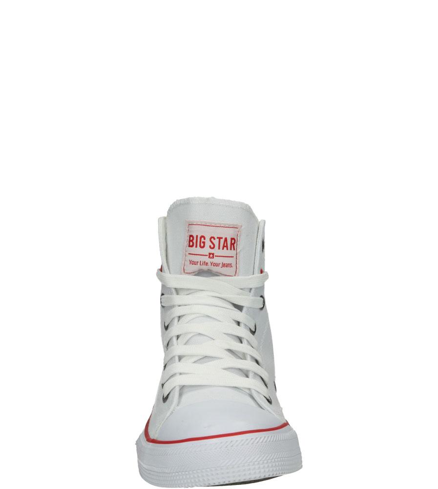 Męskie TRAMPKI BIG STAR T174106 biały;;
