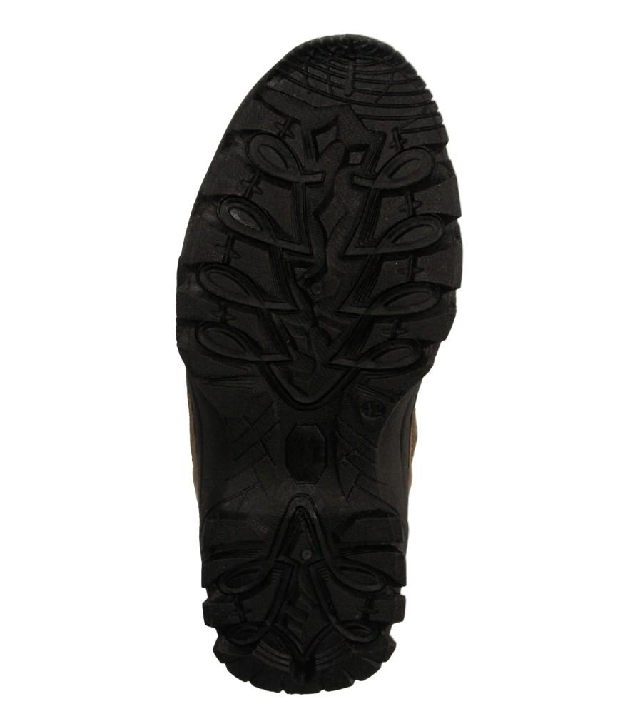 Męskie PÓŁBUTY CASU HL-1827 czarny;brązowy;