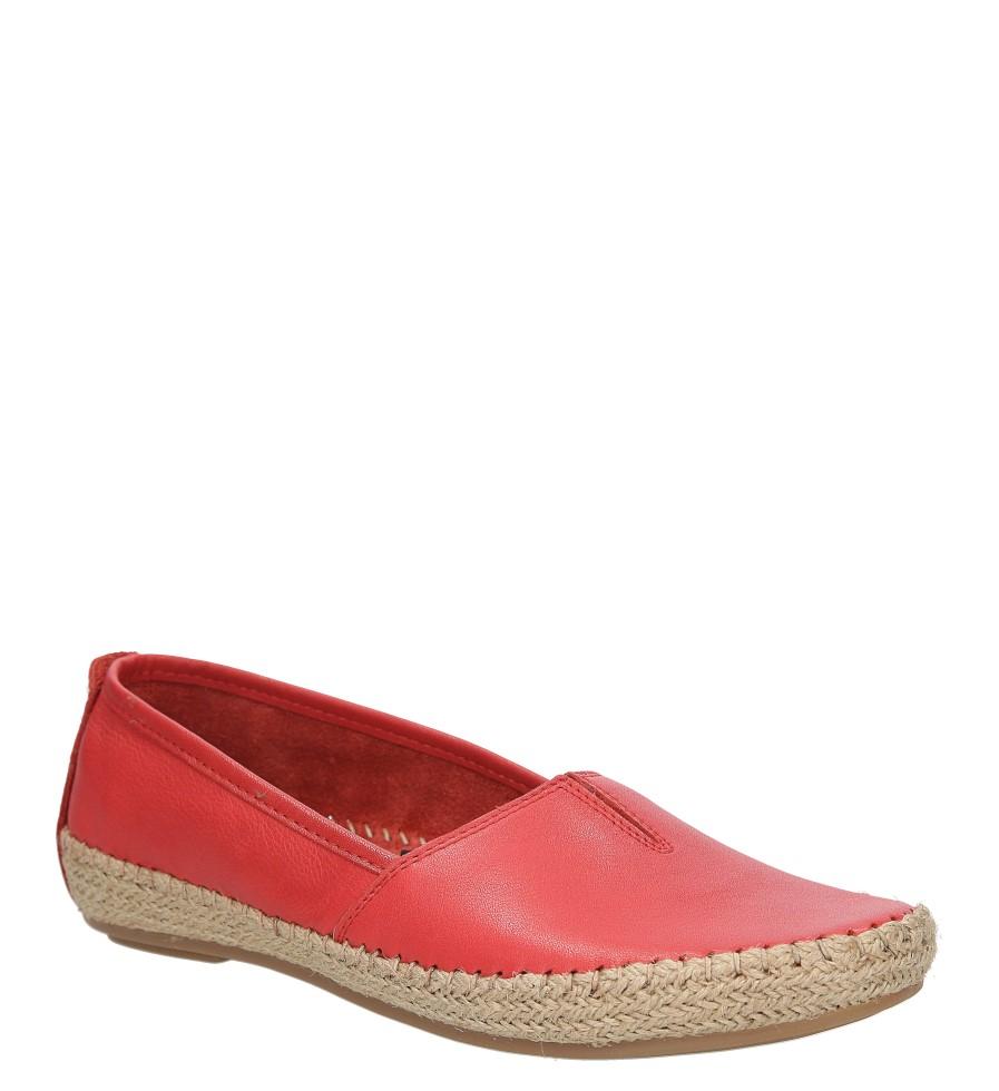 Damskie ESPADRYLE JANA 8-24601-26 czerwony;;