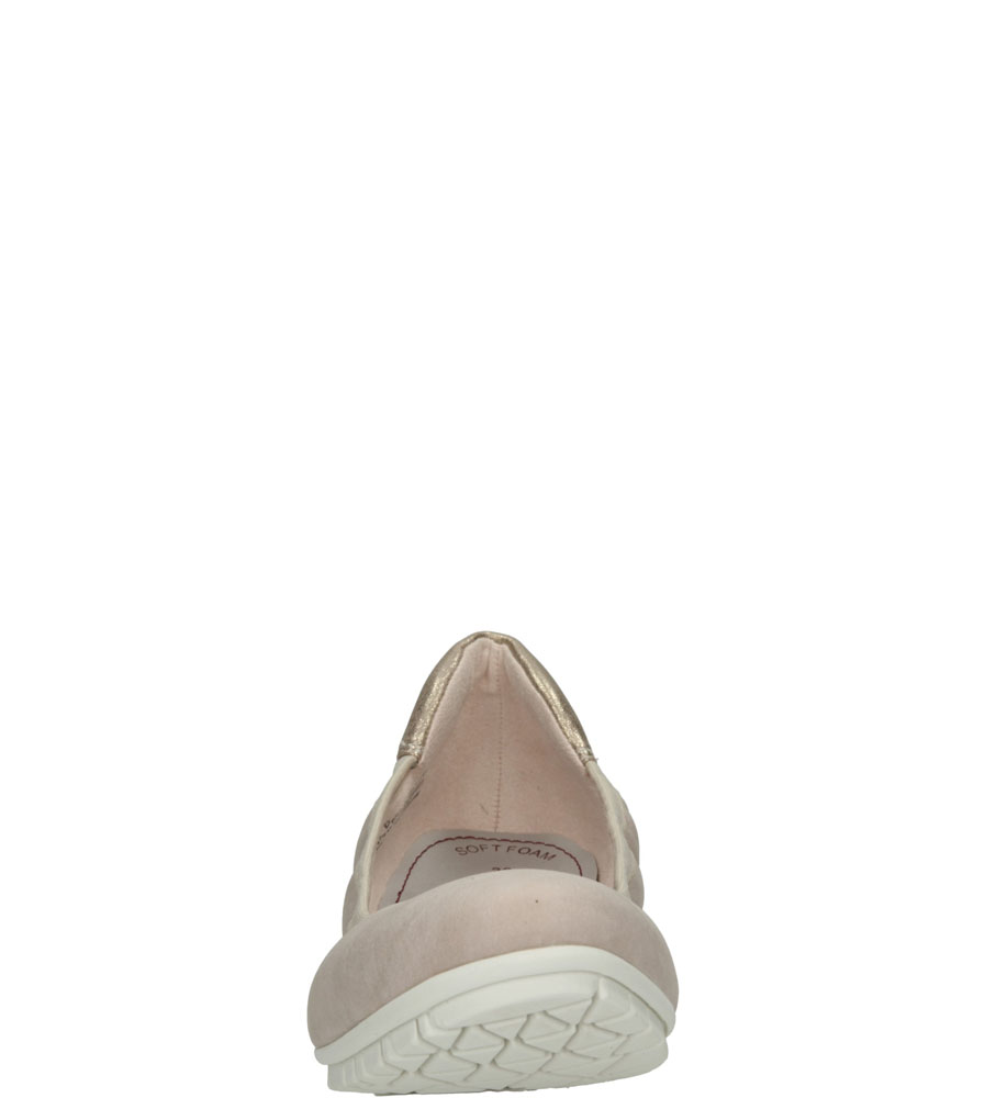 Damskie BALERINY S.OLIVER 5-22119-26 różowy;;