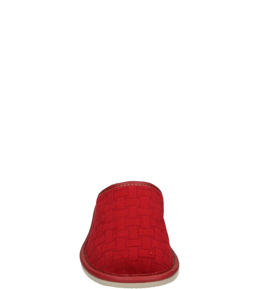Damskie KAPCIE CASU 2202 czerwony;;