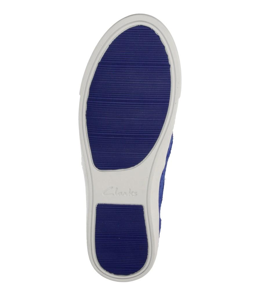Damskie CREEPERSY CLARKS 26115410 niebieski;;