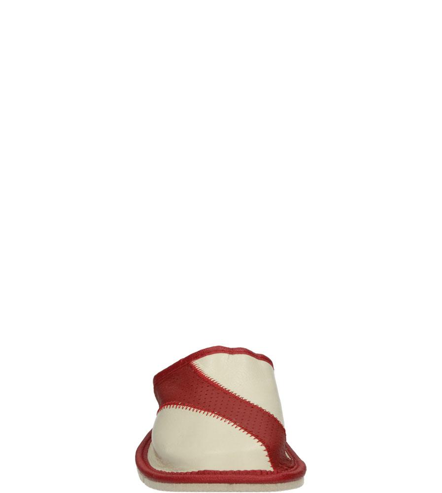 KAPCIE CASU S-678 kolor beżowy, czerwony