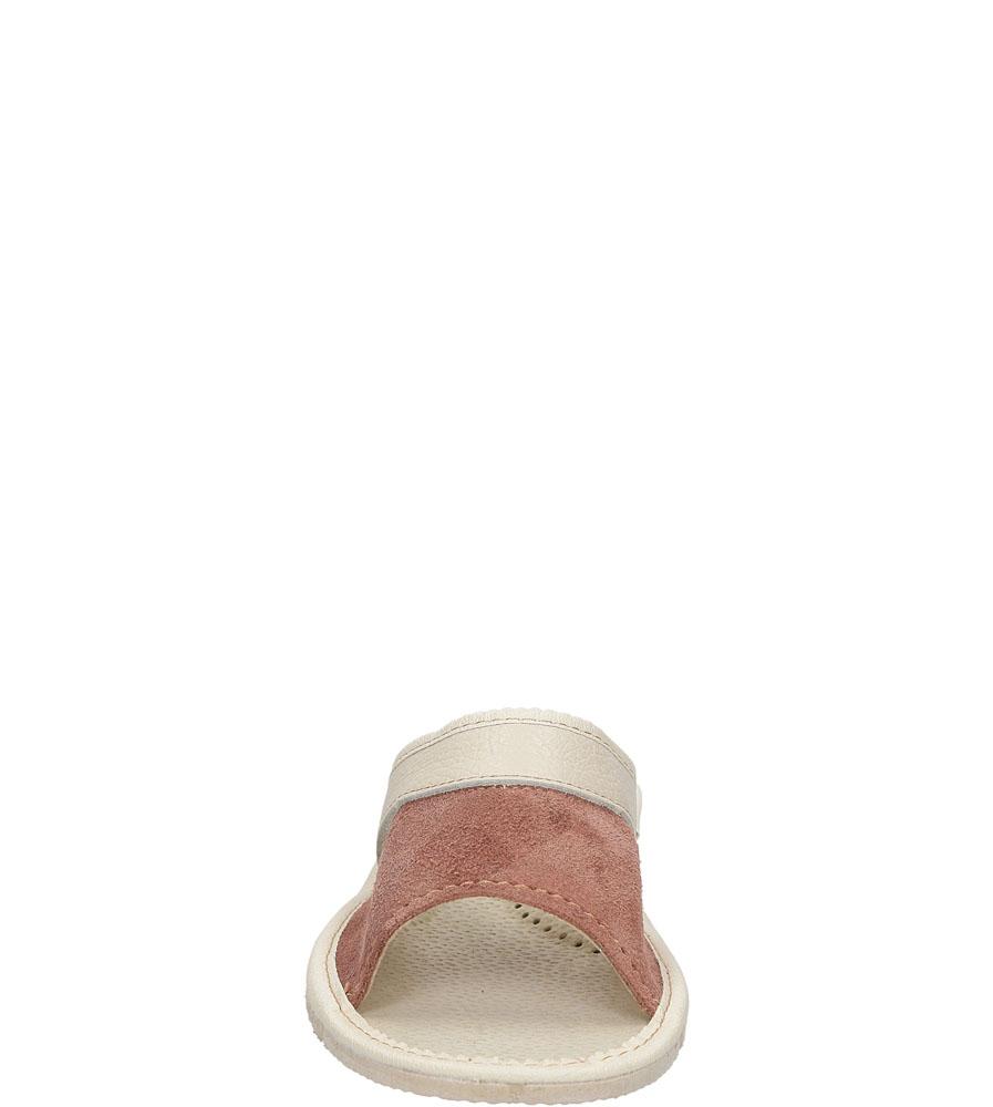 Damskie KAPCIE CASU D-45 różowy;beżowy;