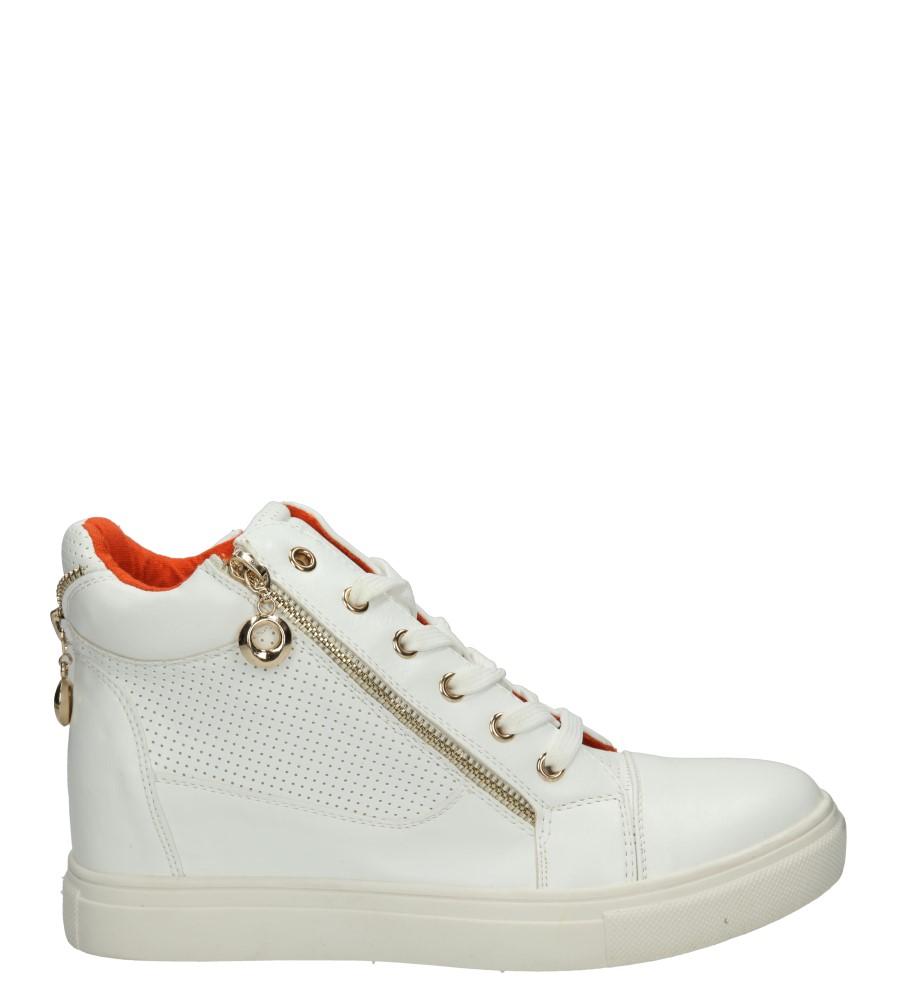 Damskie TRAMPKI CASU HC226 biały;;