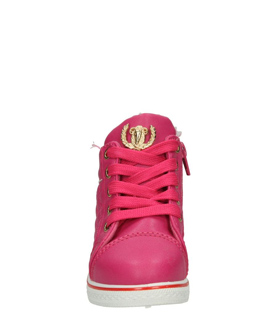 Sneakersy Casu MB-361 kolor różowy