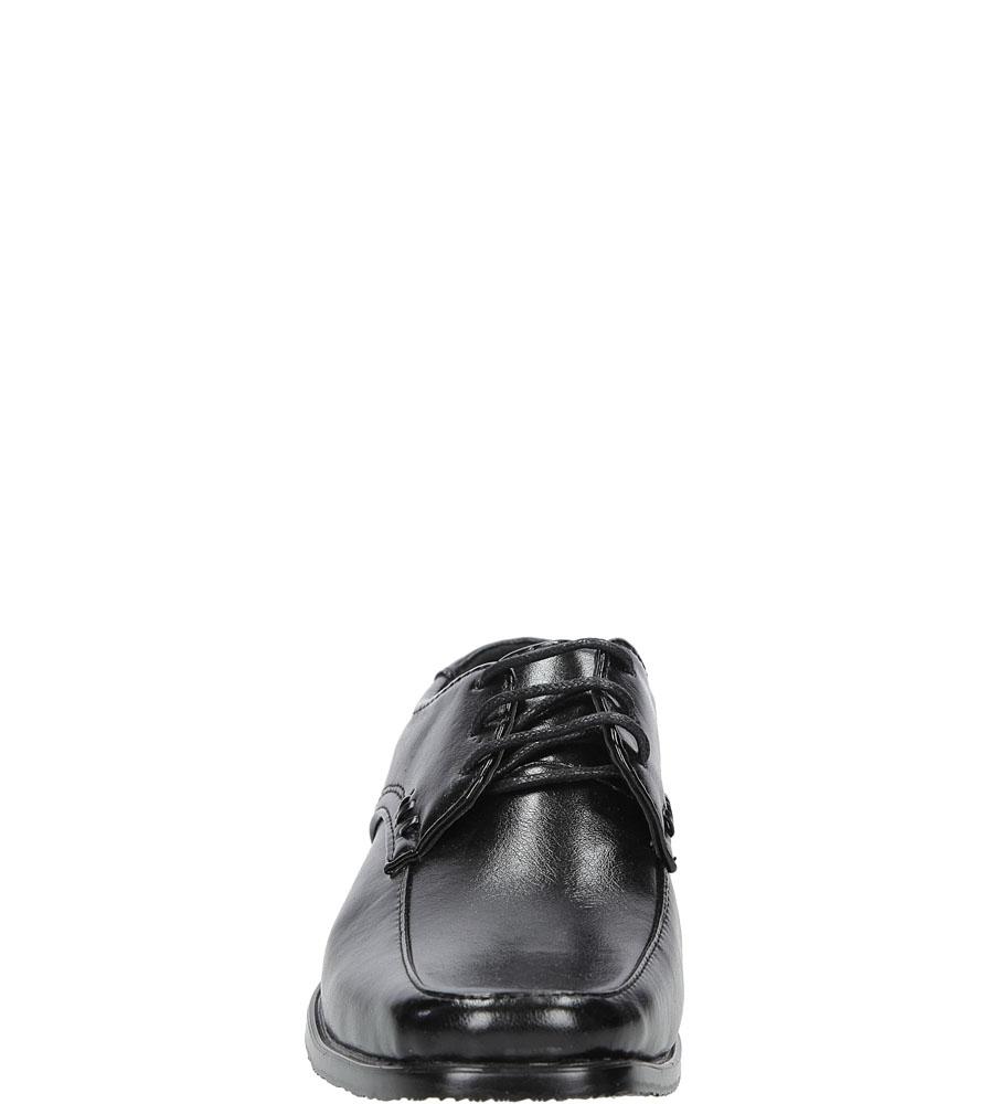 Wizytowe Casu C129 kolor czarny