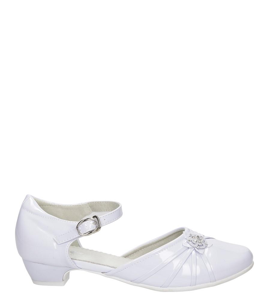 Białe buty komunijne Casu 5KM-129