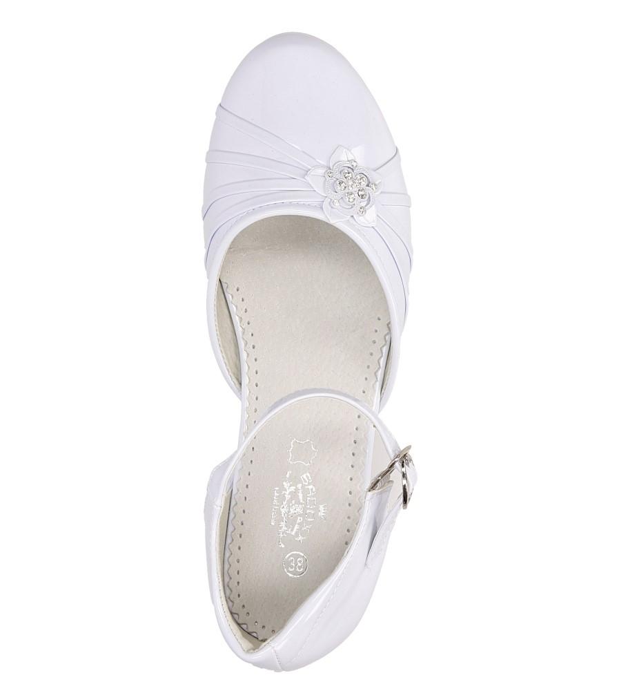 Białe buty komunijne Casu 5KM-129 wys_calkowita_buta 8 cm