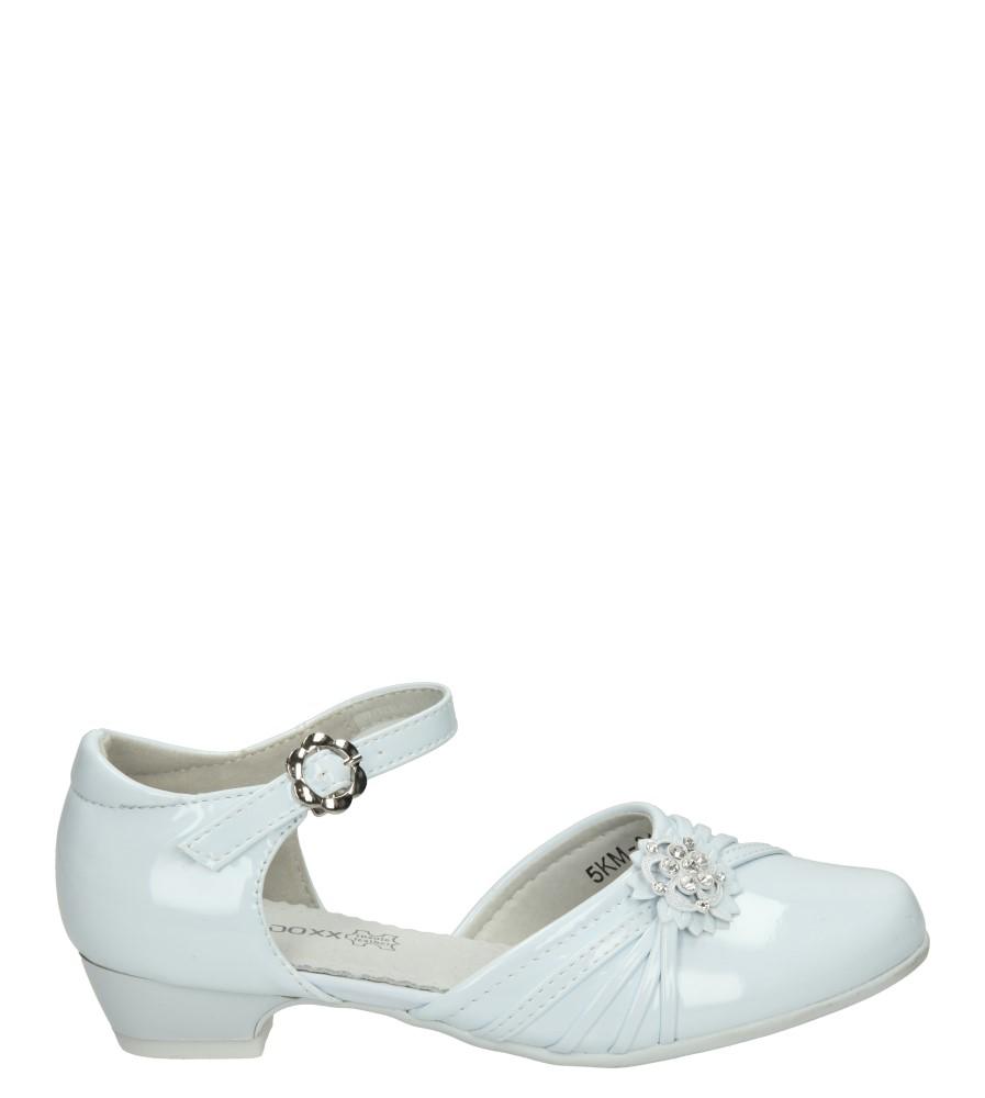 Białe buty komunijne Casu 7KM-214