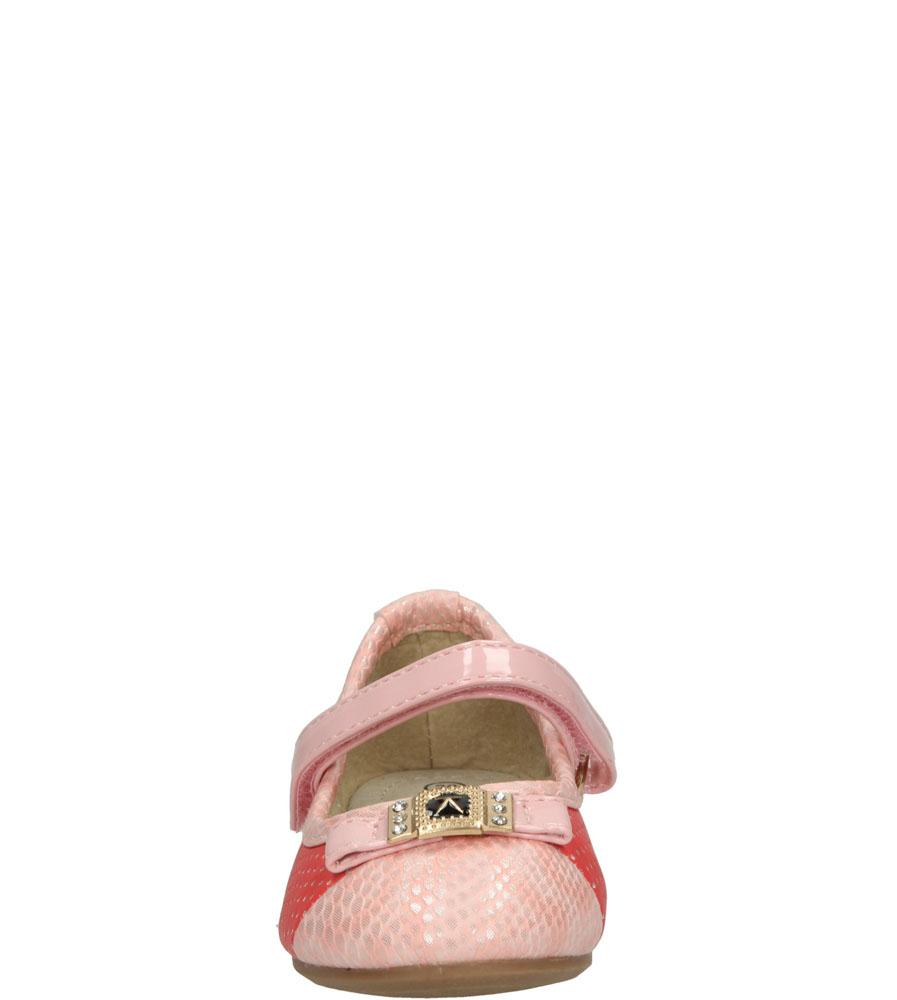 Dziecięce BALERINY 1BL358 czerwony;różowy;
