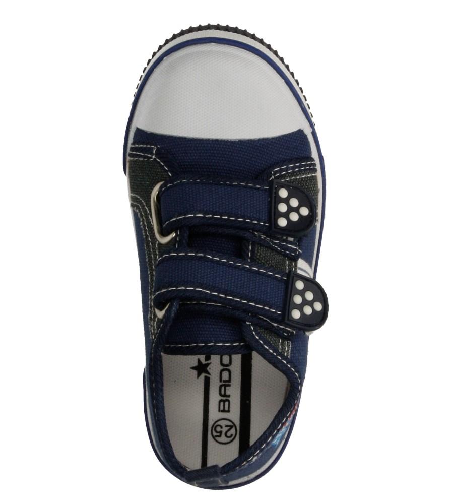 Dziecięce TRAMPKI 3SP-197-LS niebieski;;