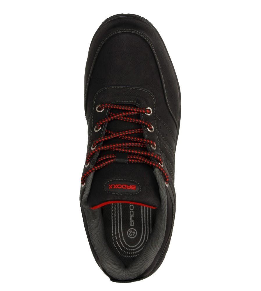 Męskie PÓŁBUTY CASU MXC6926 czarny;czerwony;