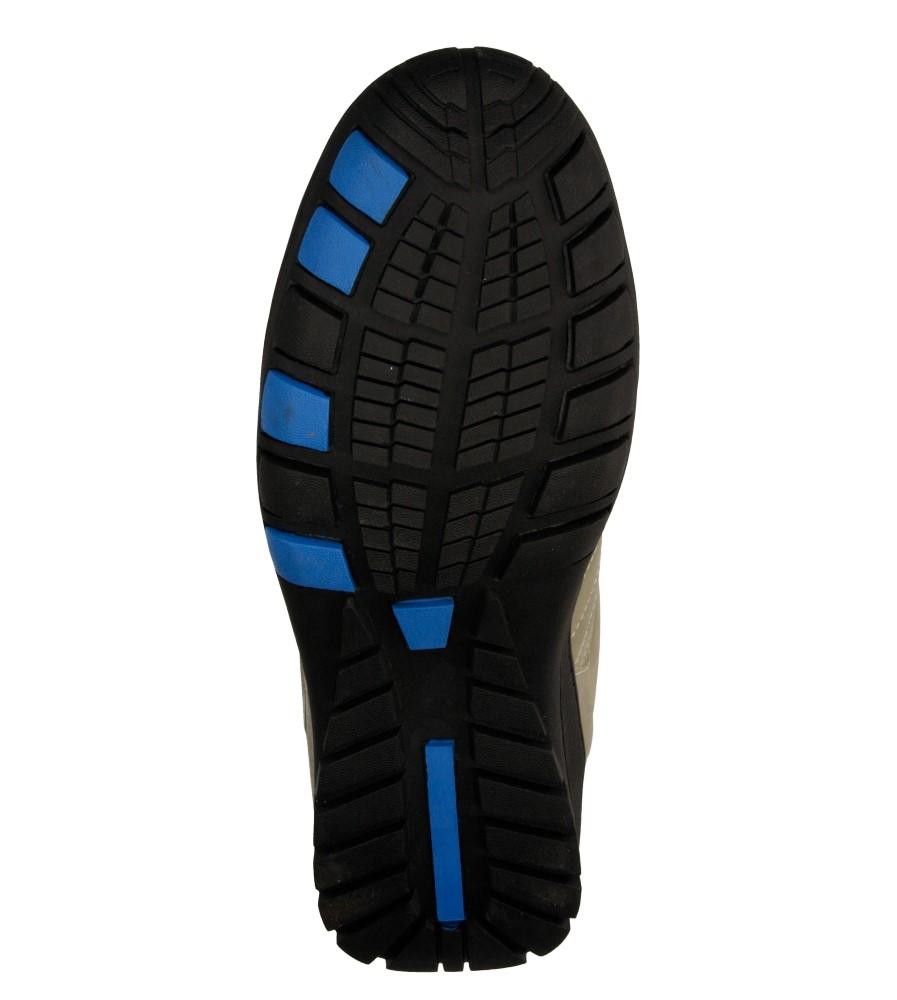 Męskie PÓŁBUTY CASU MXC6926 beżowy;niebieski;