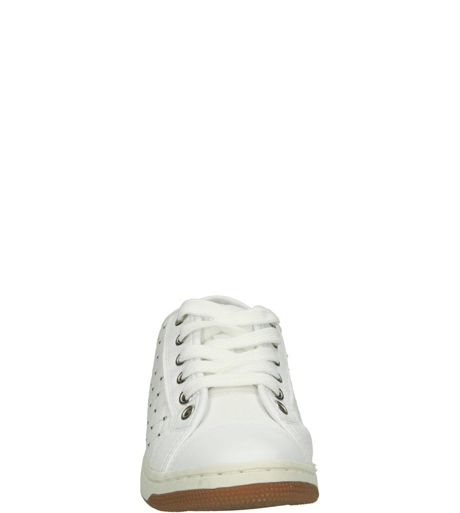 SPORTOWE GEOX J62L5D 01354 kolor biały