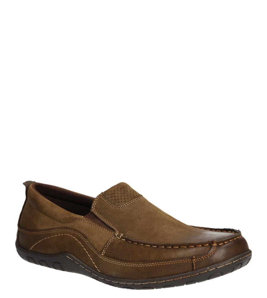 Męskie PÓŁBUTY AMERICAN SH4976-5 brązowy;;